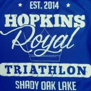 Hopkins Royal Triathlon logo