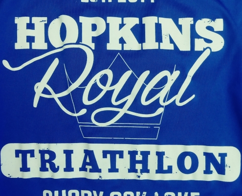 Hopkins Royal Triathlon logo