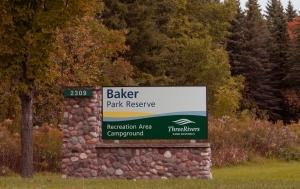 Baker Park Reserve Sign